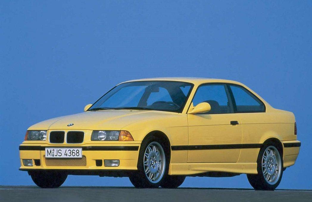 BMW M3(E36)。 圖/BMW提供