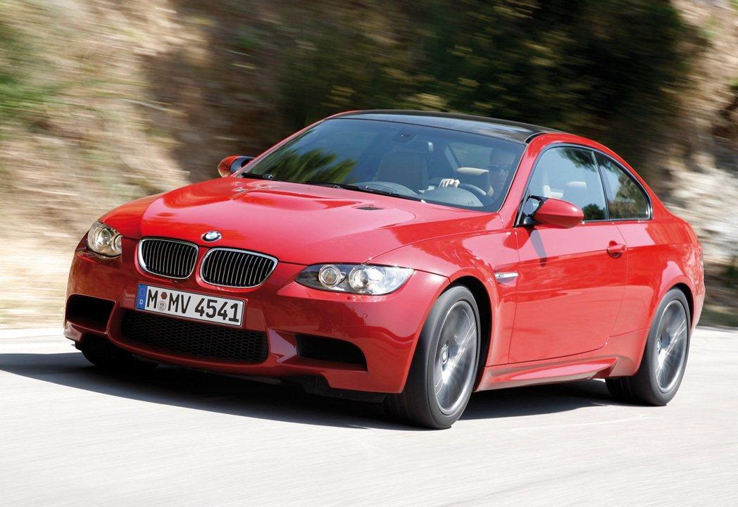 BMW M3(E92)。 圖/BMW提供