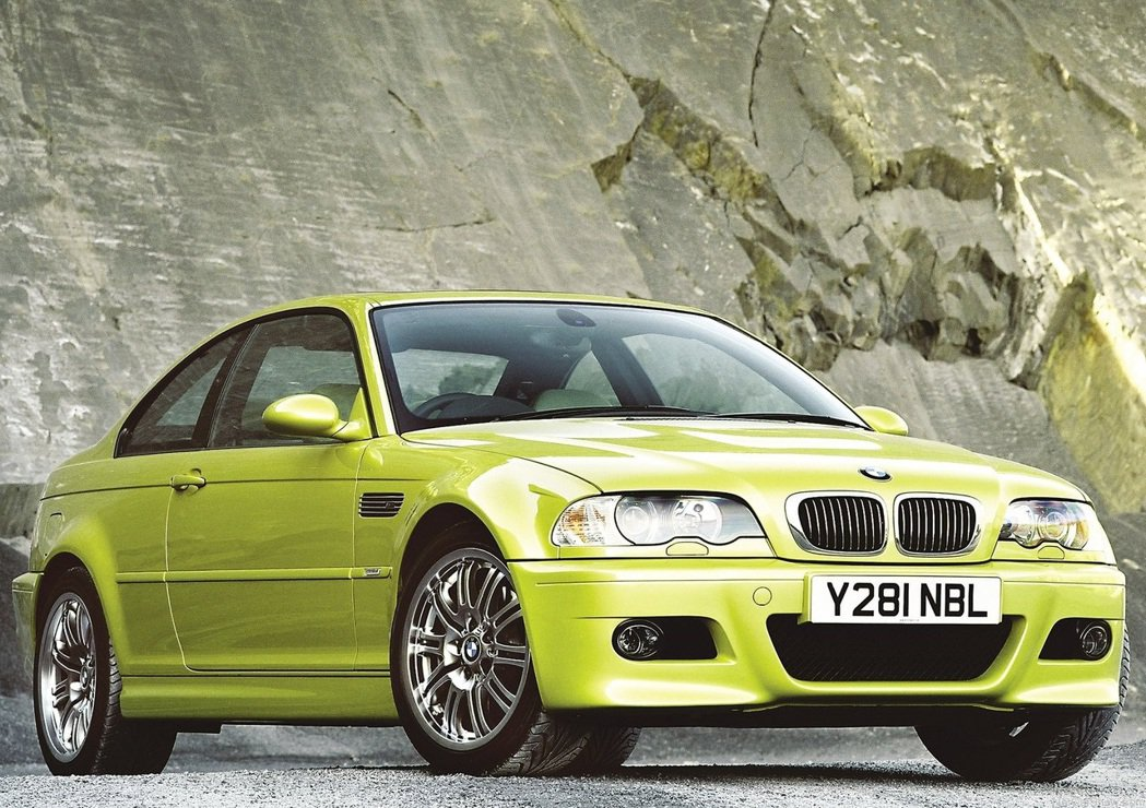 BMW M3(E46)。 圖/BMW提供
