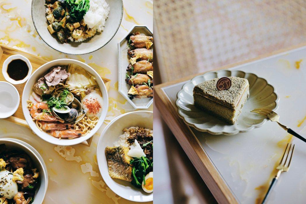 永心鳳茶全新「奶茶專門所」除了販售鍋煮奶茶,也為鄰近上班族研發飯麵選擇與甜食。 ...