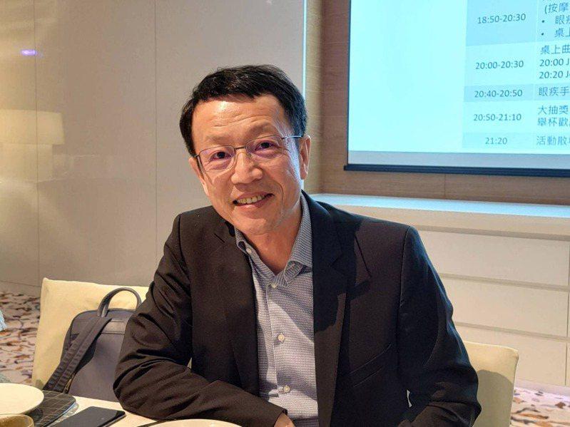 Sony Mobile總經理林志遠表示,去年1到12月在台灣新台幣2萬元以上的手機市占成長30%。 中央社