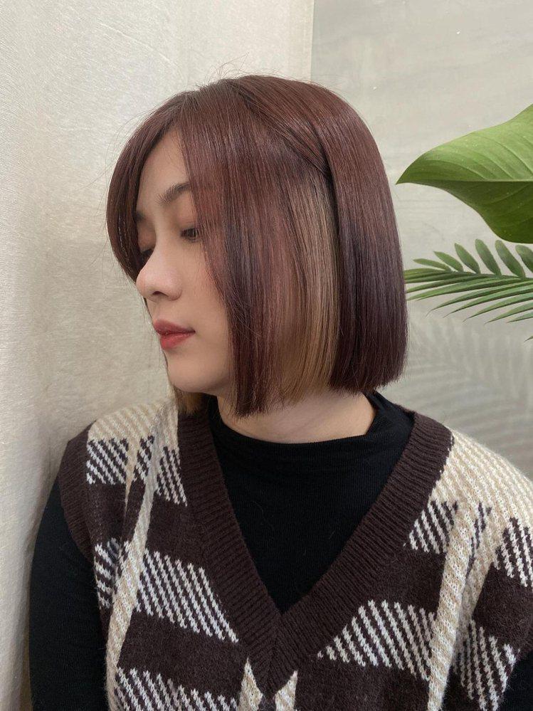 髮型創作/Goodday hair / Queena,圖/StyleMap美配提...