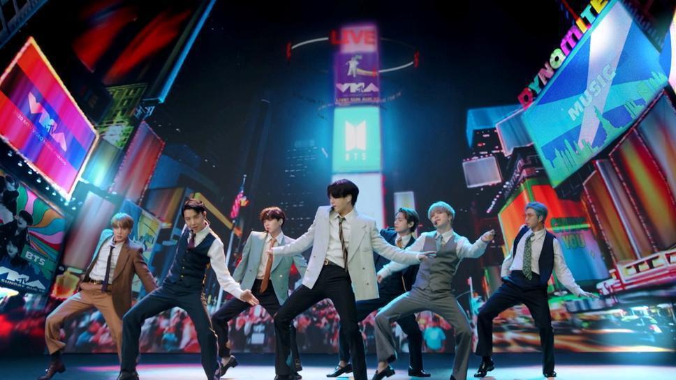 BTS首次提名葛萊美獎,無緣勝出,沒能再創南韓樂壇的新紀錄。圖/路透資料照片