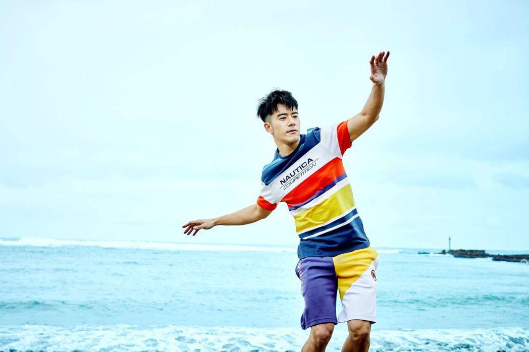 JR為服飾品牌擔任新一季代言人。圖/Nautica提供