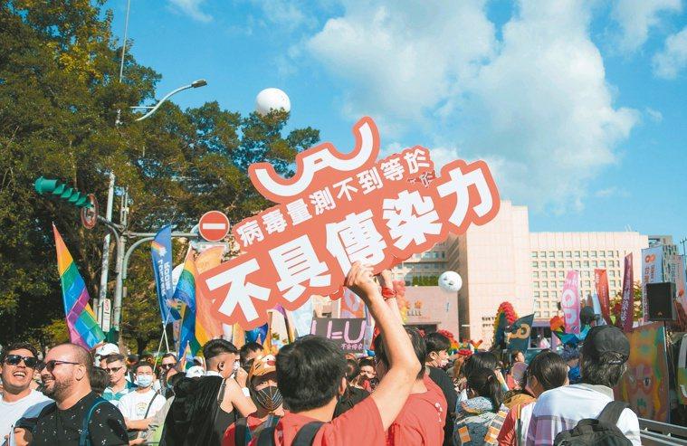 國際研究證實,「U=U」也就是「測不到病毒,等於不具傳染力」。圖/台灣愛滋病學會...