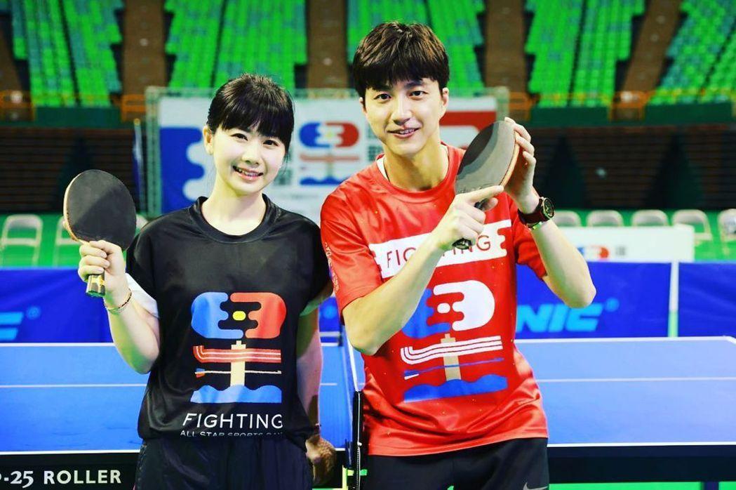 江宏傑(右)與老婆福原愛過去常常放閃。圖/摘自IG