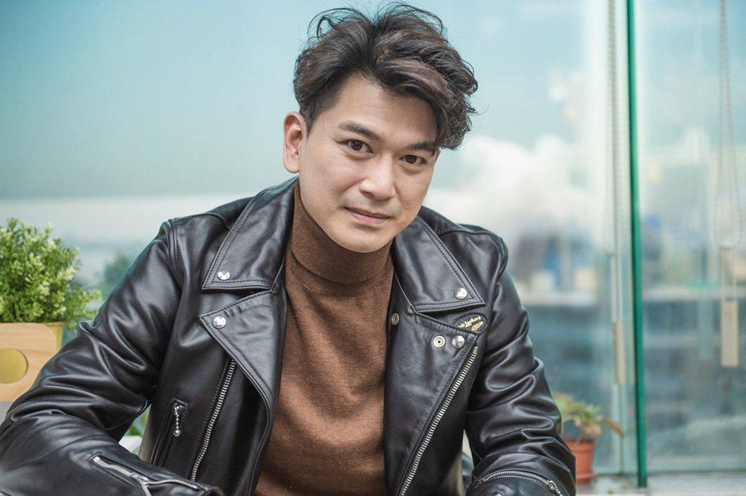 潘逸安戲裡演渣男,戲外是好爸爸、好老公。圖/LiTV、艾迪昇提供