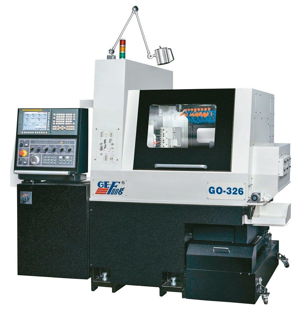 甚受加工業者青睞的GO-326多功能走心櫛式CNC精密車床。錡夆/提供