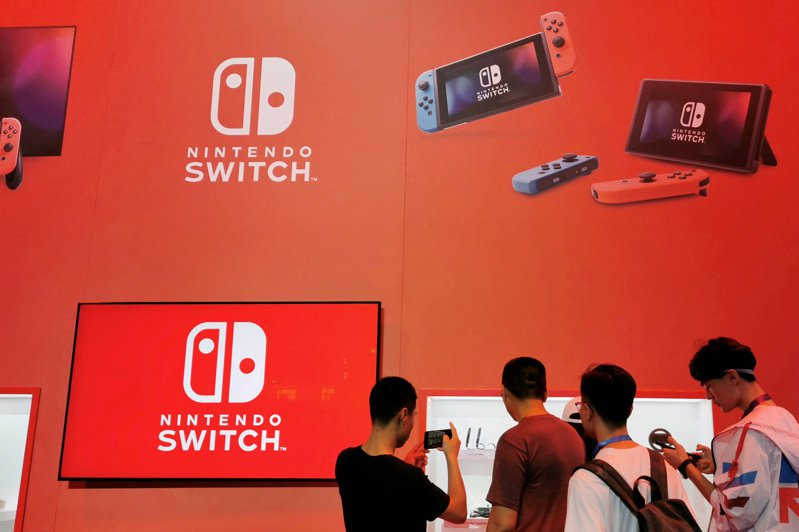 任天堂看好4月起的未來一年Switch遊戲主機硬體與軟體銷售將創紀錄,優於市場預期的衰退。(路透)
