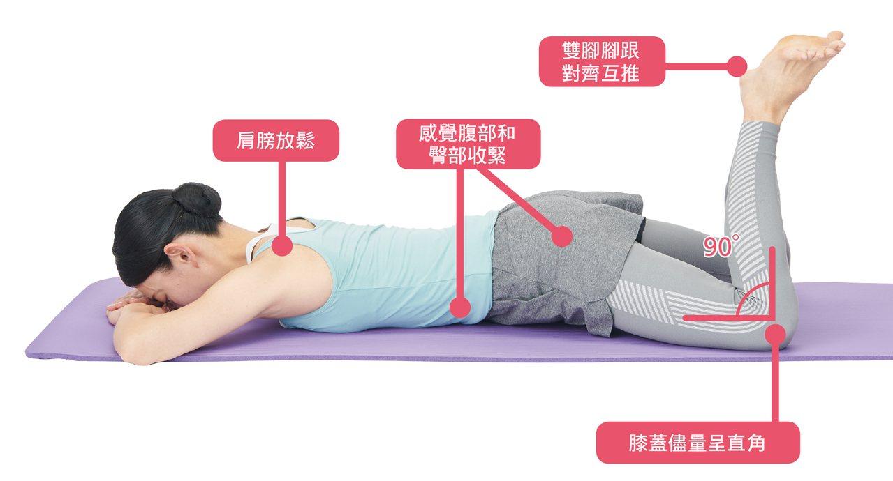 從趴著到起立,一連串的動作都會使用到腹肌和背肌,所以自然而然能訓練到保持正確姿勢...