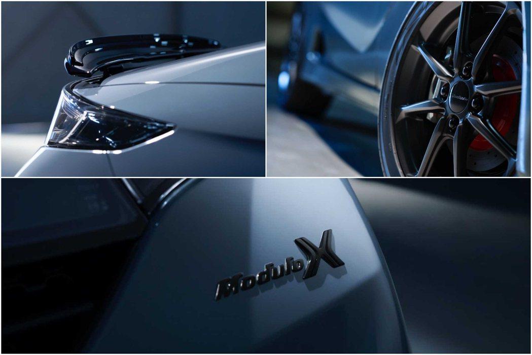 外觀套件多了銘牌、鋁圈、尾翼。 摘自Honda