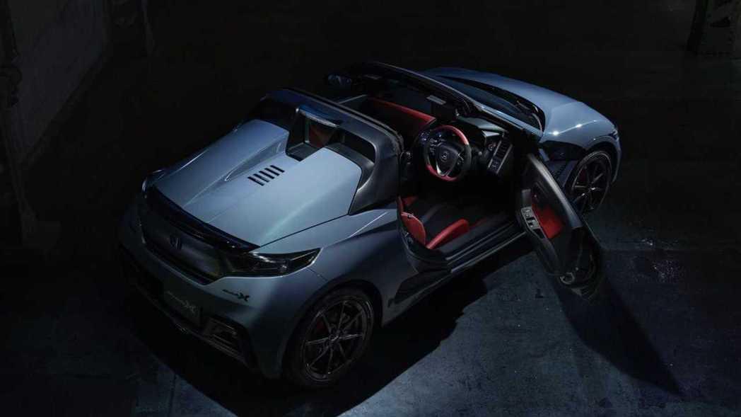 Honda S660 Modulo X Version Z。 摘自Honda