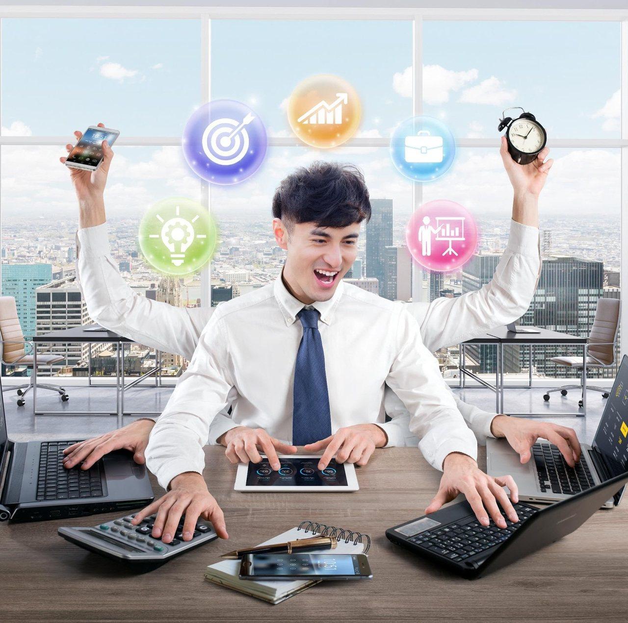 學習力攸關商場的競爭力。 圖/益思維品牌 提供