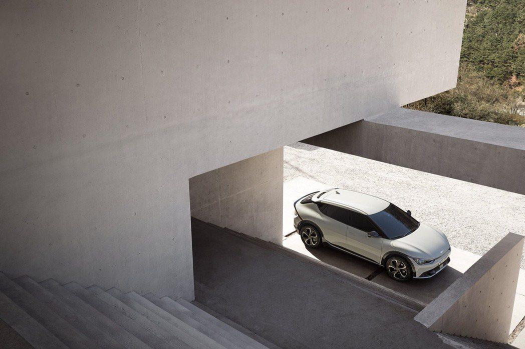 全新Kia EV6純電動車。 摘自Kia