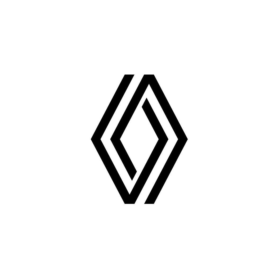 2022年Renault全新品牌標誌。 摘自Renault
