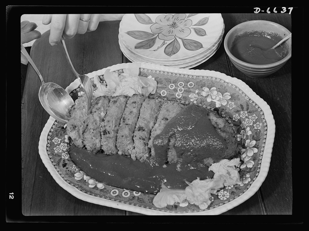 美國在二戰時推出了「分享肉類」(Share the meat)食譜。旨在希望民眾...