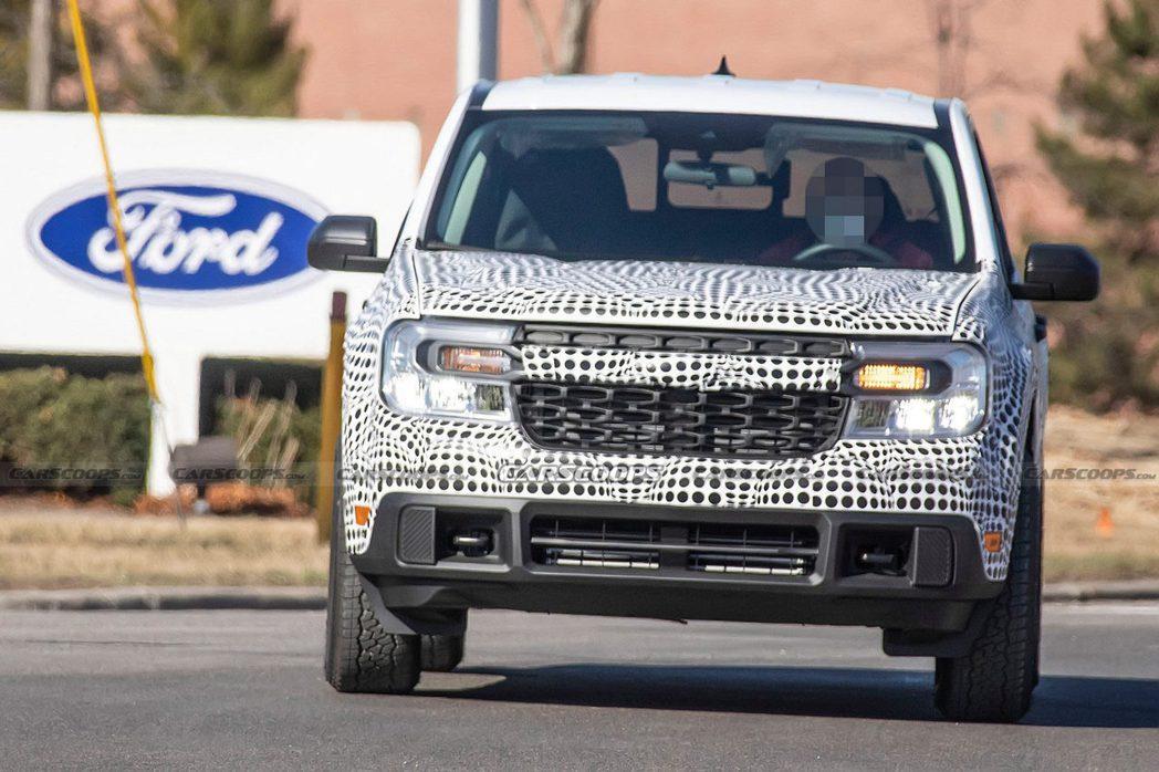 Ford Maverick有可能於2021下半年發表。 摘自Carscoops
