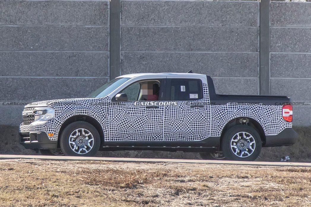 Ford Maverick採用C2平台打造。 摘自Carscoops