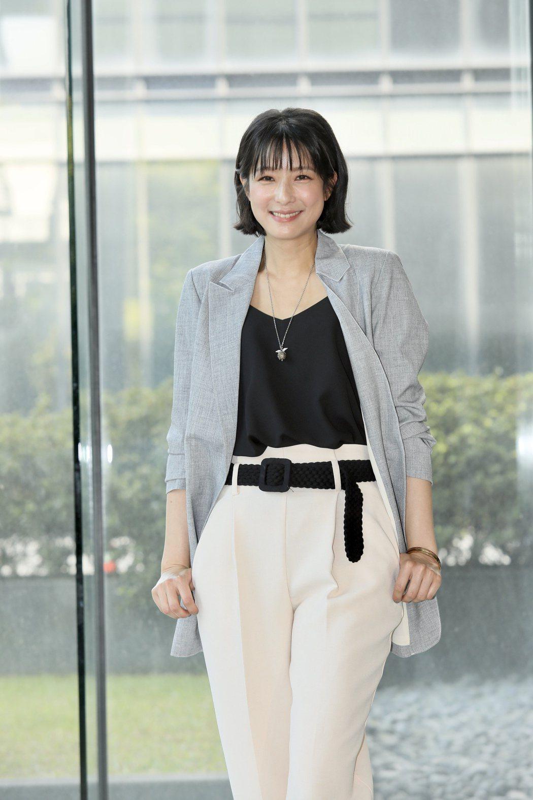 賴雅妍出席三立《三隻小豬的逆襲》第一波卡司發布。記者李政龍/攝影