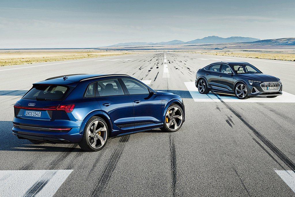 全能電旅Audi e-tron 55 quattro車型將於今年四月陸續到港,接...