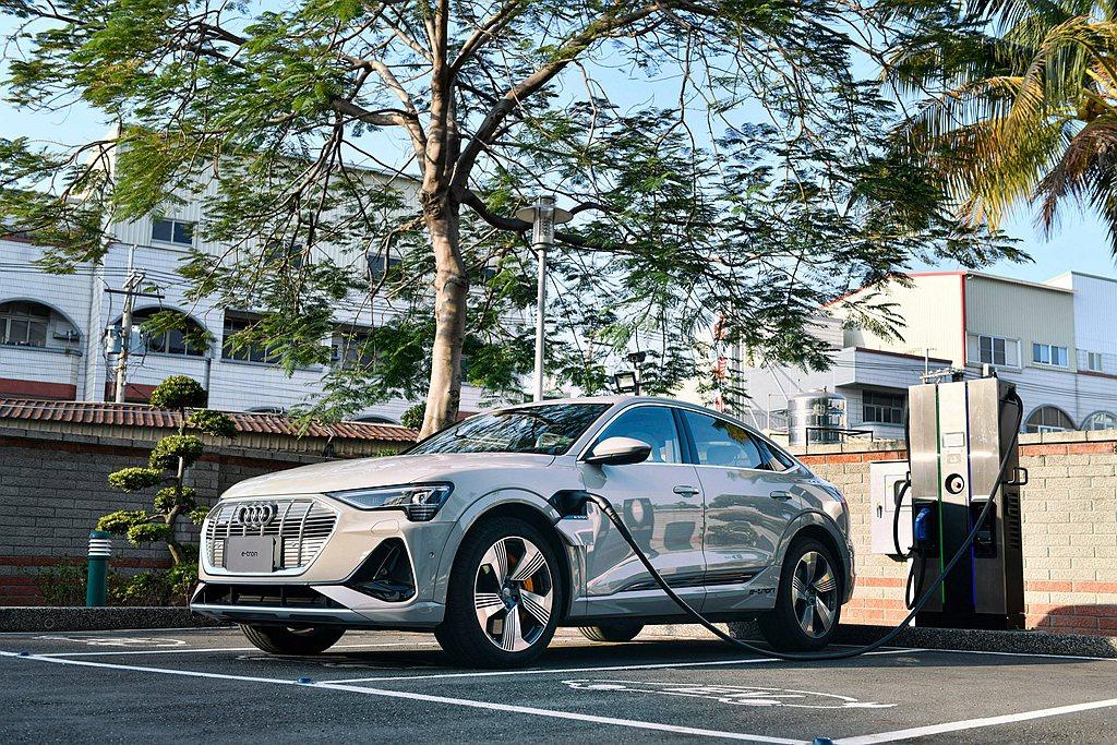 台灣奧迪也持續攜手三大充電合作夥伴,打造友善的電動車環境,其中Noodoe EV...