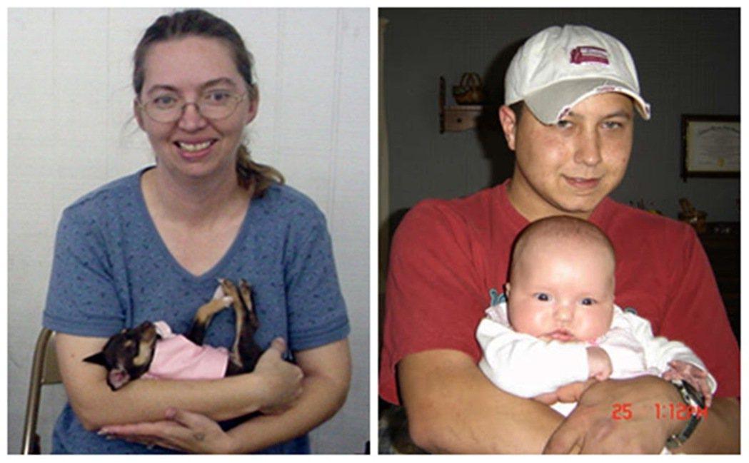 胎兒最終安全健康回到家人身邊,而麗莎遭到逮捕並以綁架致死罪名起訴。圖左為蒙哥馬利...