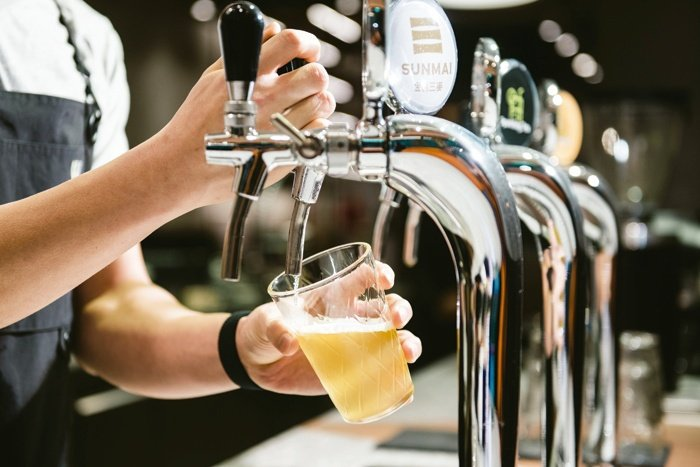 One of the most unique products at Wangtea Lab is its draught series.