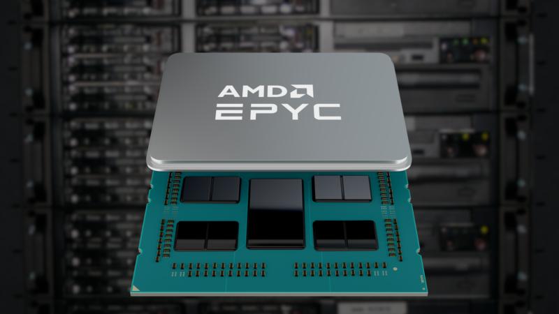 超微15日發表第三代EPYC伺服器晶片。(取自網路)
