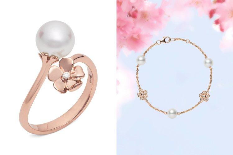MIKIMOTO推出全新MIKIMOTO Cherry Blossom系列作品。...