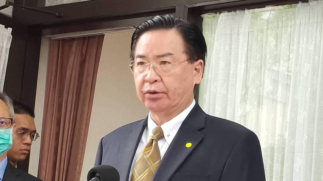 外交部長吳釗燮。本報資料照片