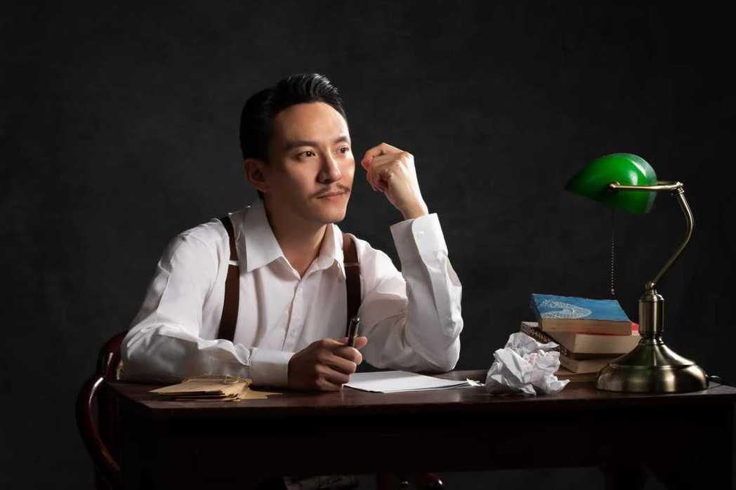 張震首度演出舞台劇「江/雲•之/間」,他表示挑戰性極高。圖/澤東提供