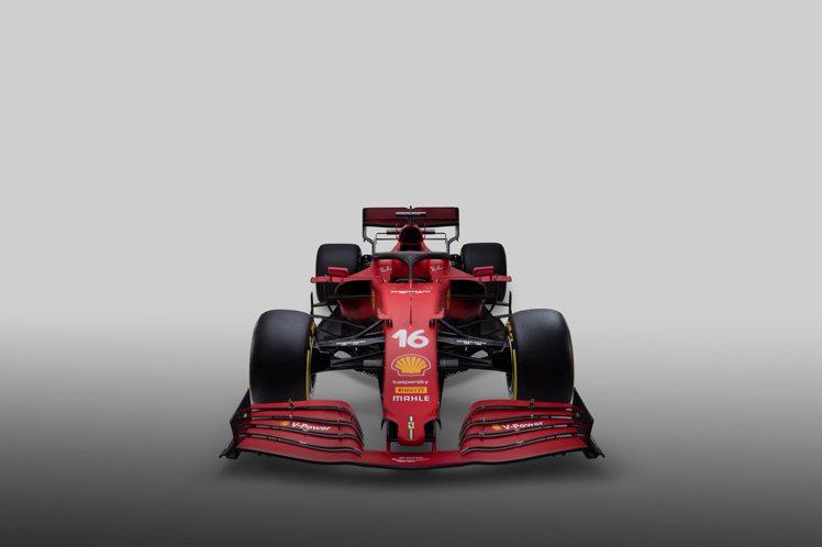 FERRARI 2021年最新賽季的新賽車:SF21。圖 / RICHARD M...