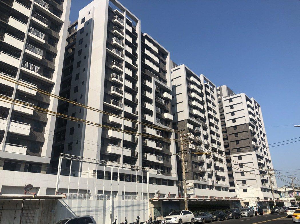 蘆竹2號社宅內部有3個房型,部分將作為航空城拆遷戶的中繼宅。記者曾健祐/攝影