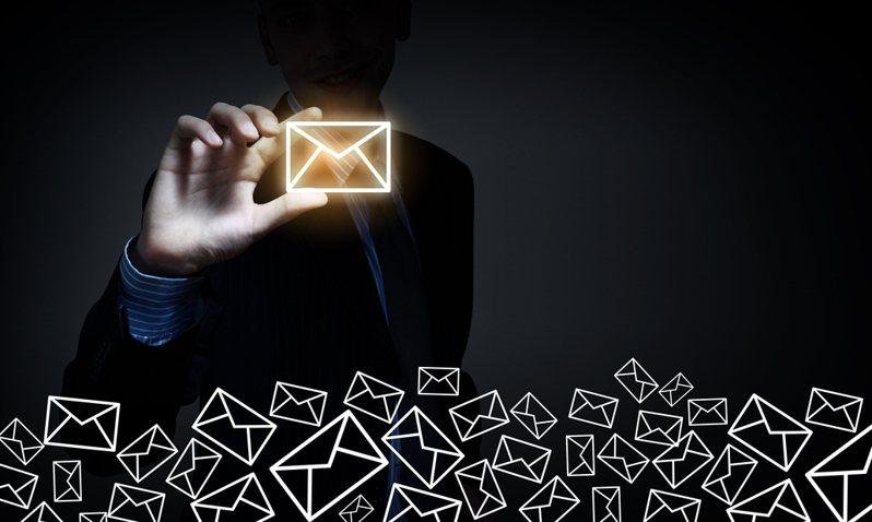 過去六個月時間以來,全球垃圾郵件居然有高達 44% 來自美國。圖/Ingimage