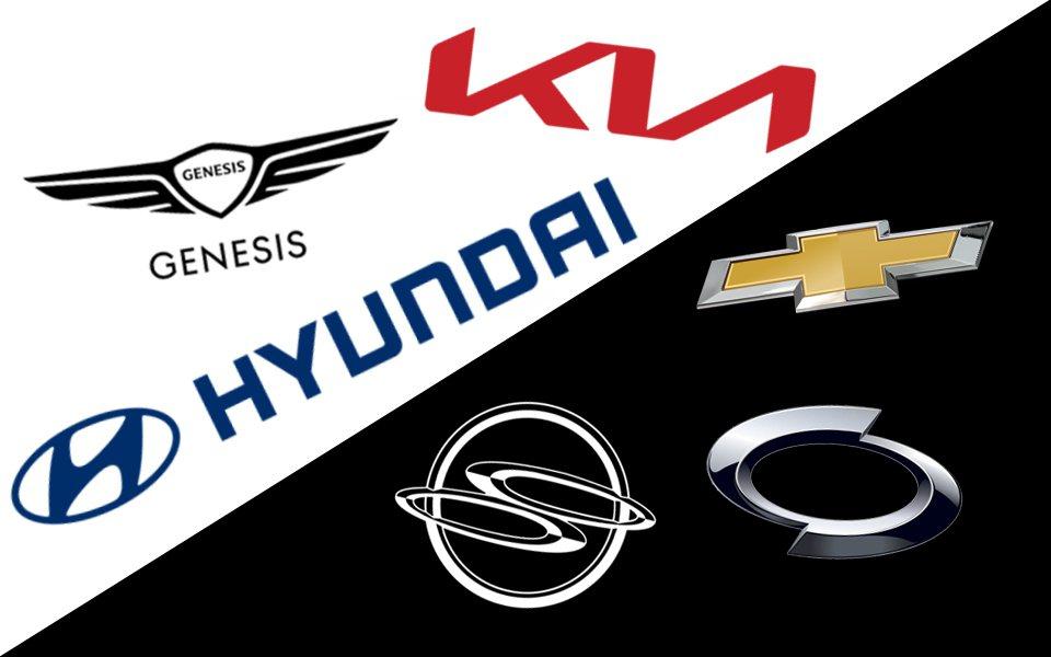 相較於Hyundai、Kia、Genesis日益增加的銷售,韓國其餘國產車品牌的...