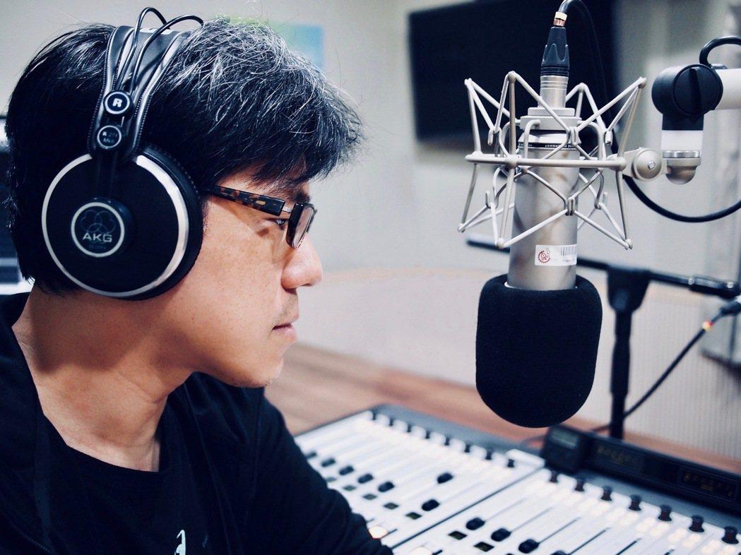 馬世芳曾在Alian原住民族廣播電台主持《耳朵借我》。圖/馬世芳提供