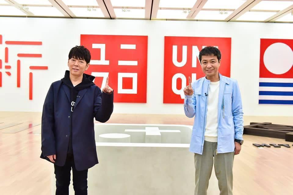 佐藤可士和(左)親自為個人特展,擔任策展人。圖/IG:kashiwasato20...