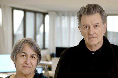 2021普利茲克建築獎得主—法國建築師安妮·拉卡頓(Anne Lacaton,右)和讓-菲利普·瓦薩爾(Jean-Philippe Vassal )。圖/普利茲克建築獎提供