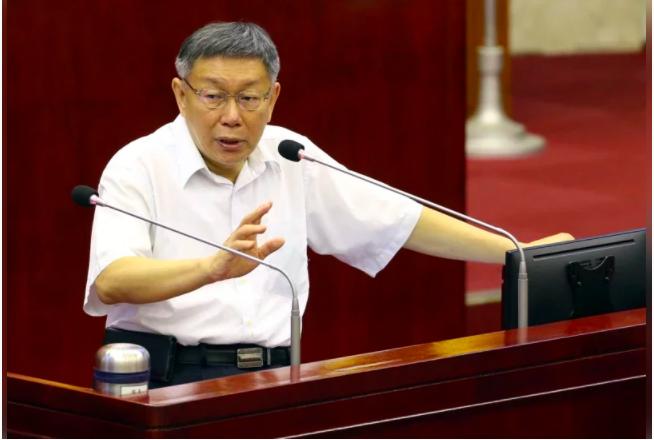 台北市長、民眾黨主席柯文哲。本報資料照片