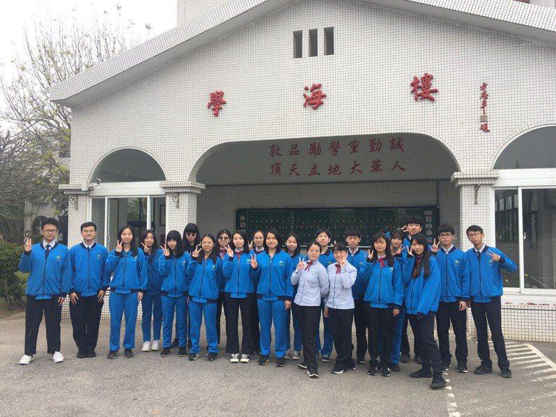 私立大華中學應屆89位畢業生繁星錄取近75%。圖/大華中學提供