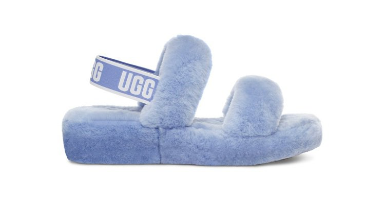 OH YEAH糖果羊毛涼鞋,4,800元。圖/UGG提供