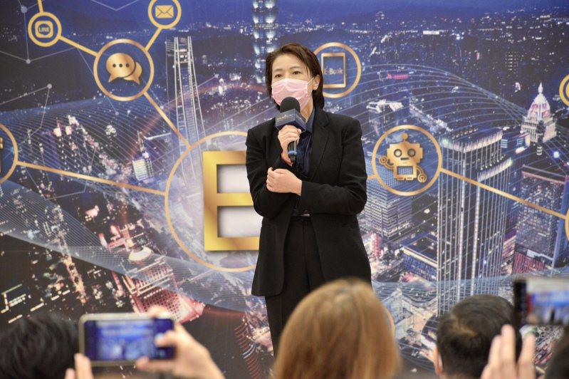 台北市副市長黃珊珊表示,因為簡訊內容造成誤會,翡翠水庫沒有要真的放水,未來會更謹慎處理。記者鍾維軒/攝影