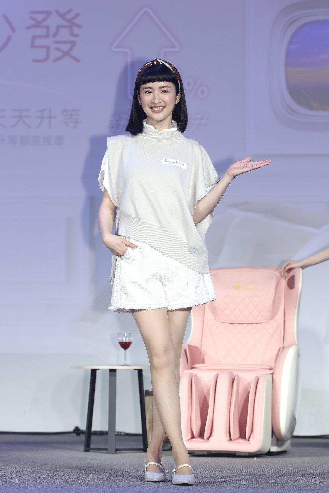 林依晨透露之後將復出拍戲。記者王聰賢/攝影