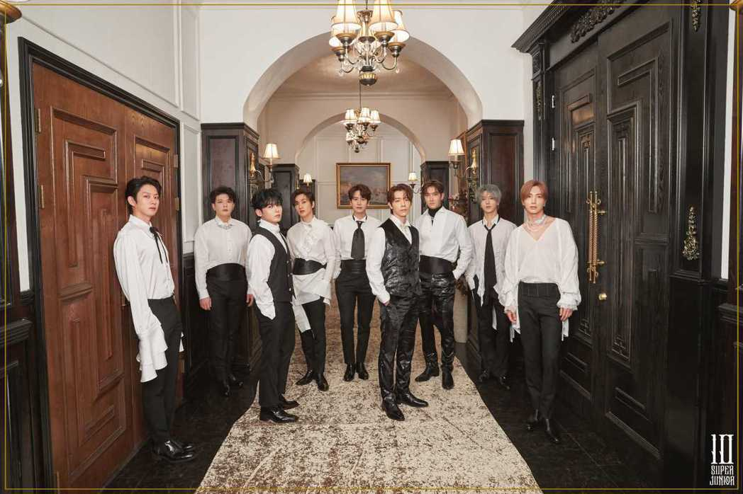 Super Junior發行最新專輯,自備土味情話向台灣粉絲問好。圖/愛貝克思提
