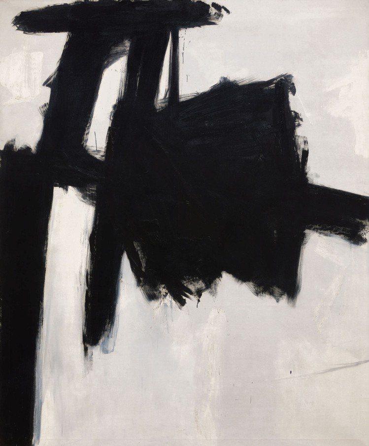 弗朗茲克萊恩(Franz Kline)「先生」,1959年,油彩畫布,估價1,5...
