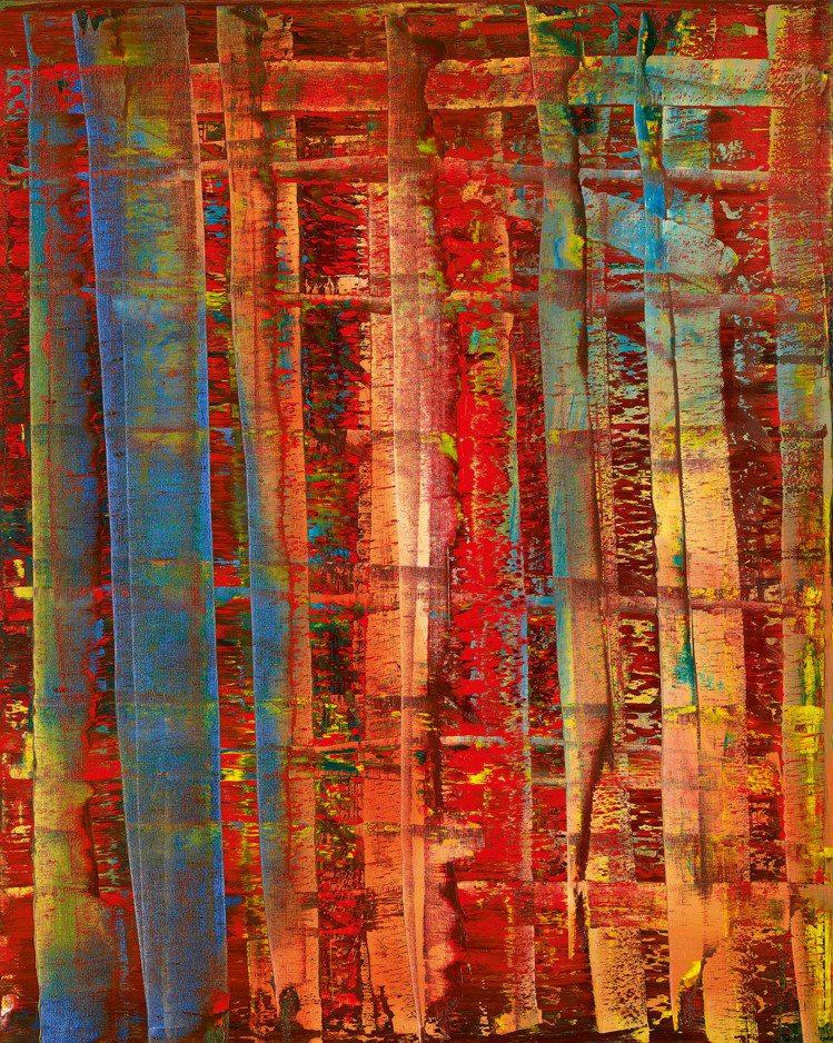 N16666 Gerhard Richter, Abstraktes Bild起...