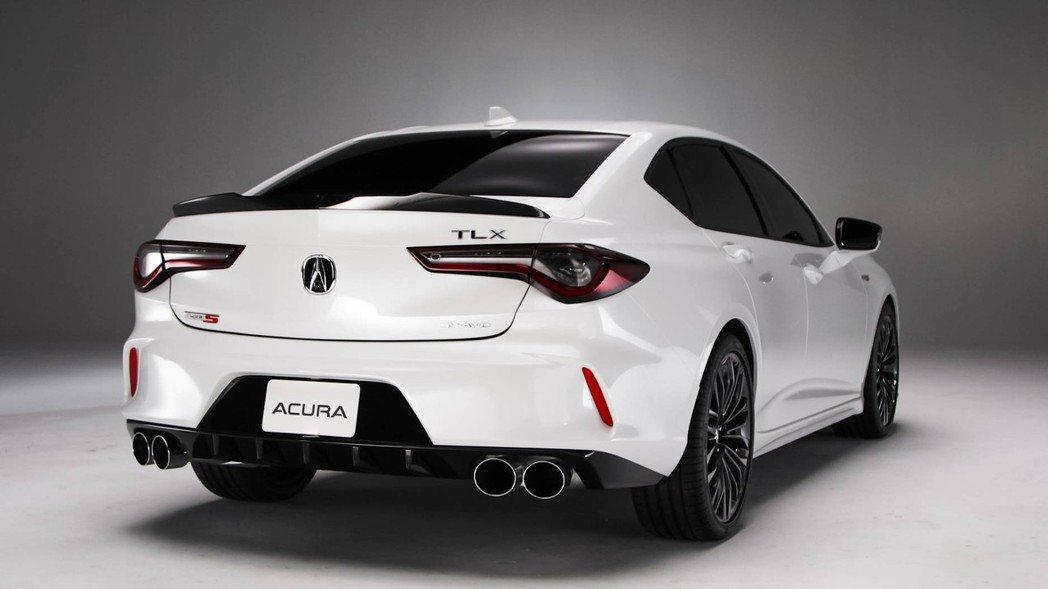 Acura TLX Type S。 摘自Acura