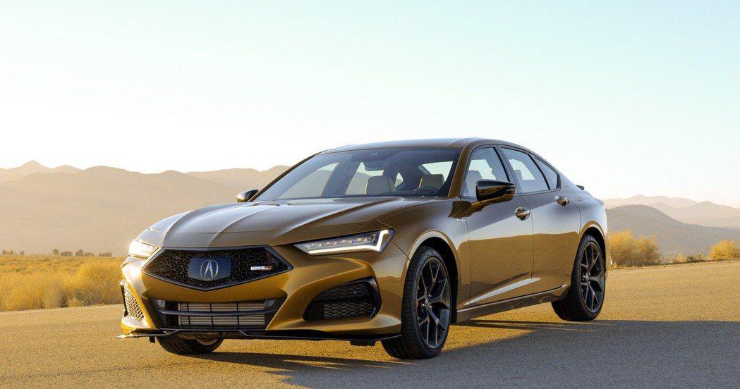 Acura TLX Type S擁有355hp最大馬力。 摘自Acura