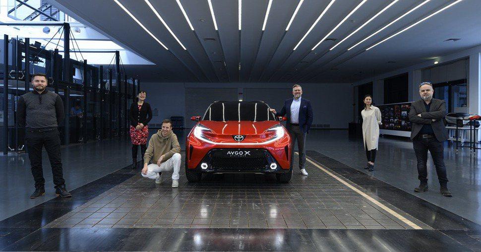 Toyota Aygo X Prologue是由法國設計團隊打造。 摘自Toyo...