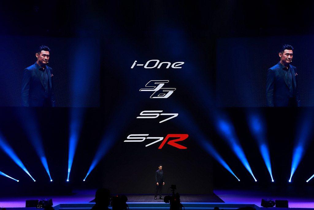 KYMCO一次推出四款具有截然不同騎乘風格與產品定位的全新電動機車可選。 記者張...